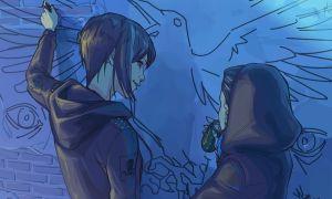 Фан-арт по игре Life is Strange: Before the Storm от художницы Afterlaughs