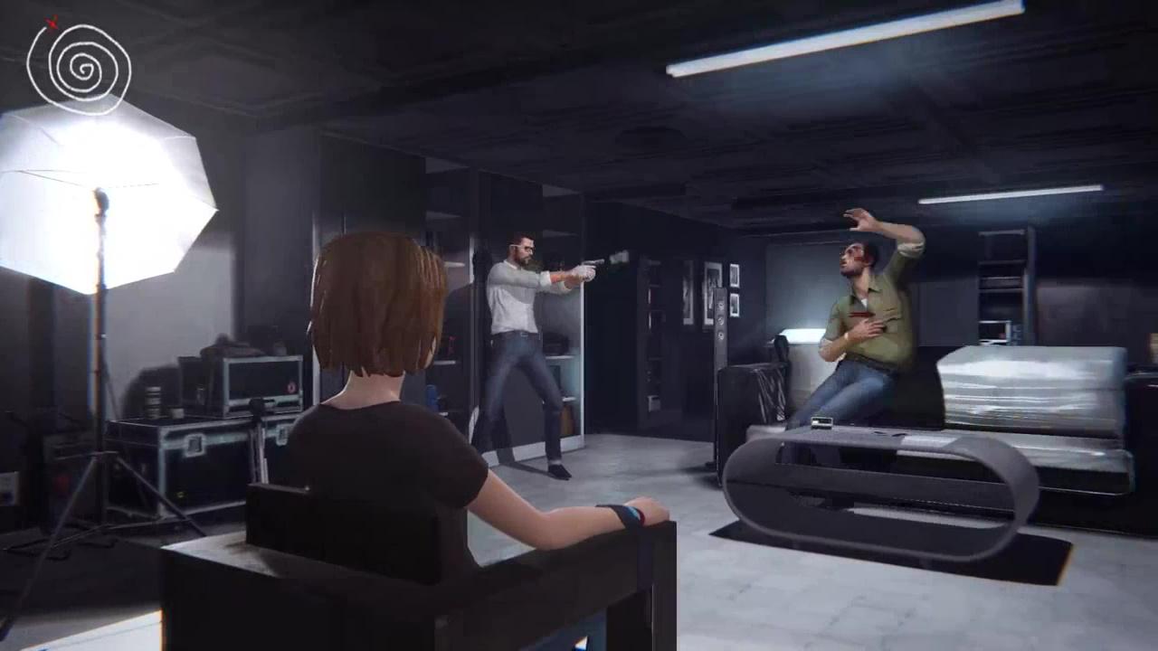 Джефферсон стреляет в Дэвида
