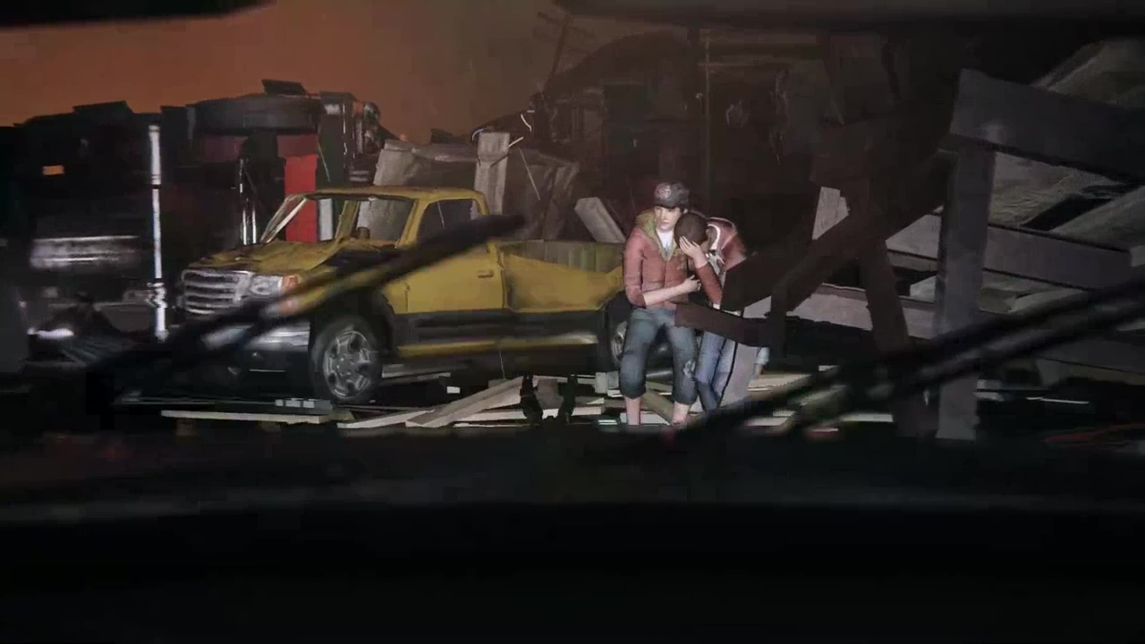 разбитый город