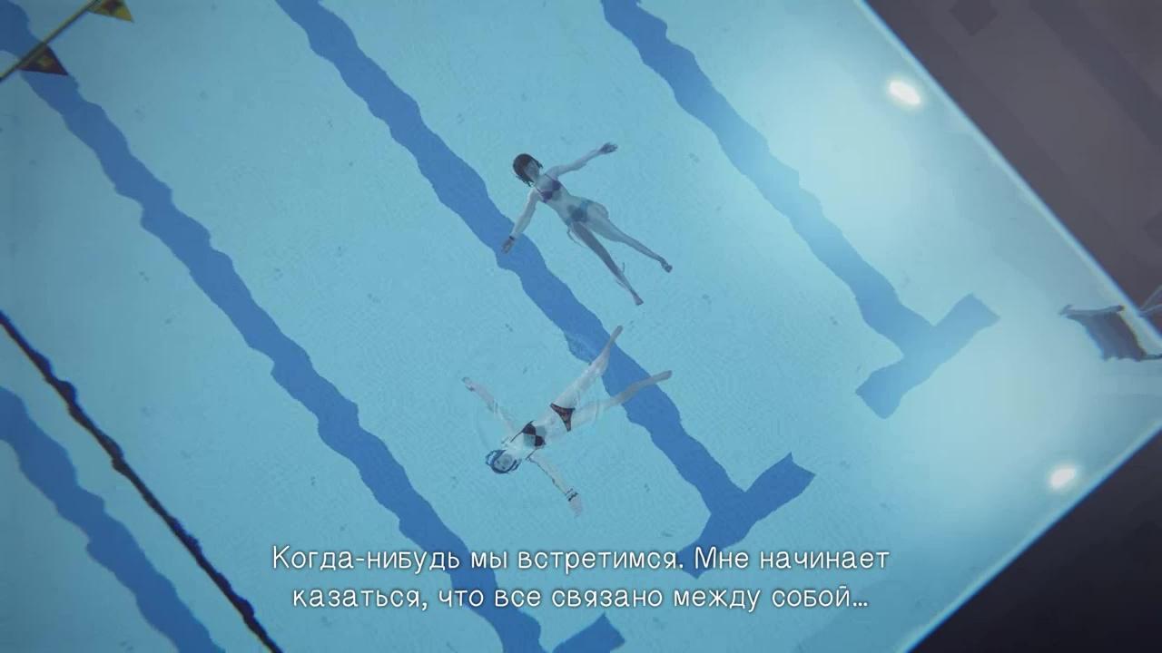 рейчелл и макс в бассейне