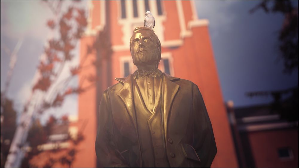 Blackwell Academy Statue