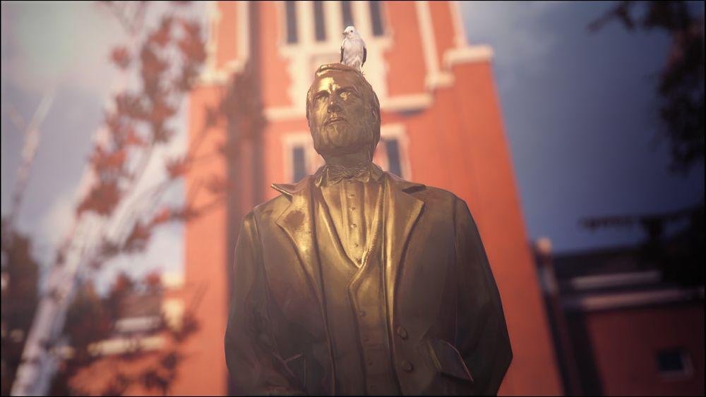 Blackwell Academy Statue