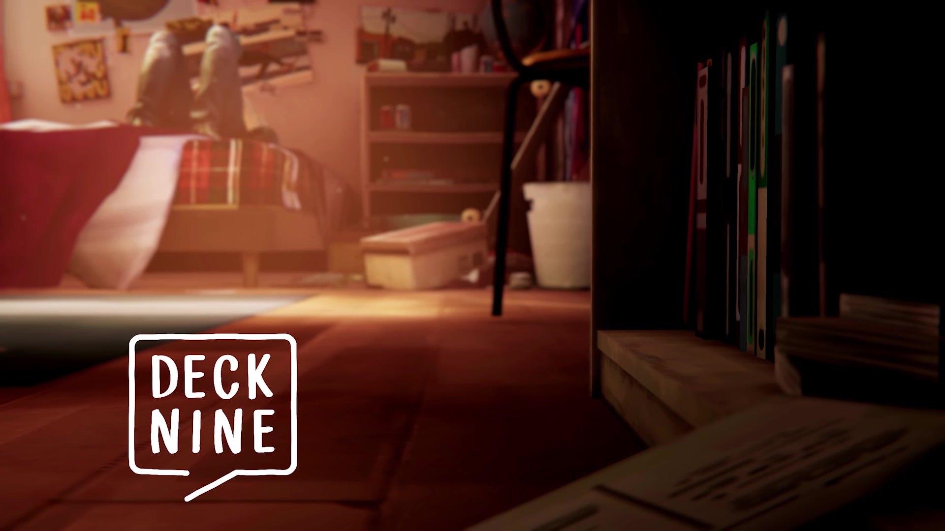 Логотип студии Deck Nine Games в начальной заставке Life is Strange: Before the Storm