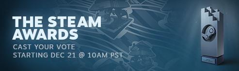 Баннер новости про Steam Awards 2017
