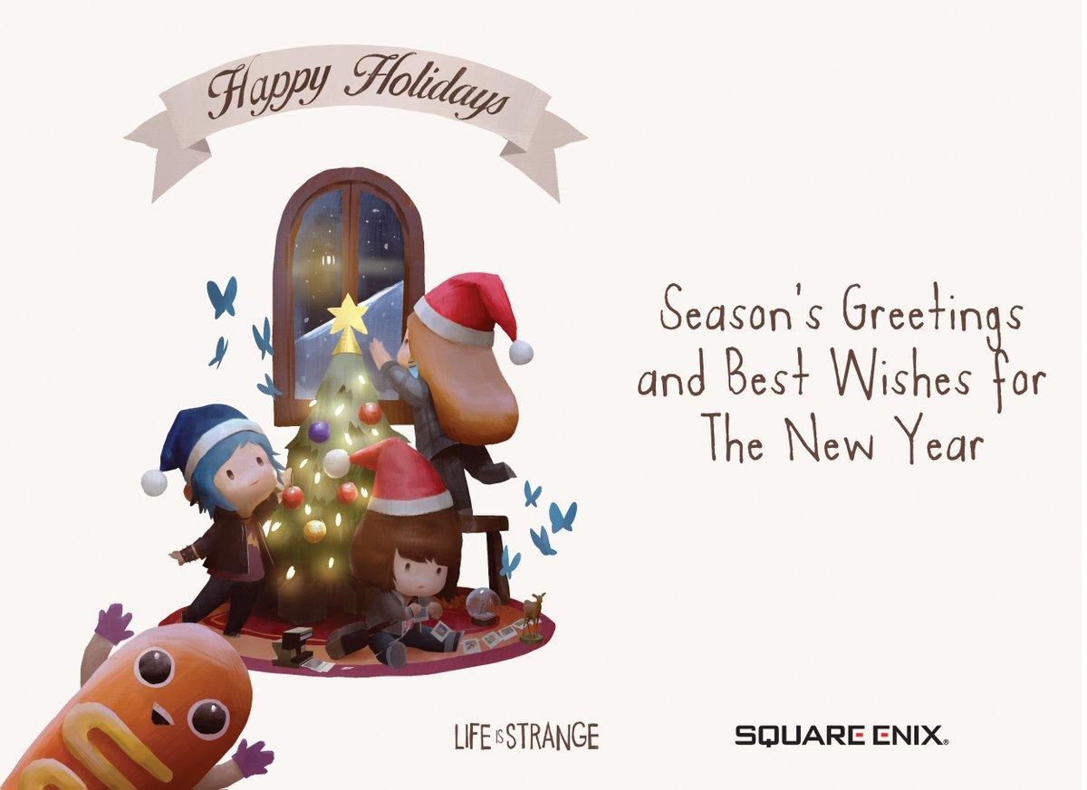 Рождественская открытка от разработчиков Life is Strange: Before the Storm