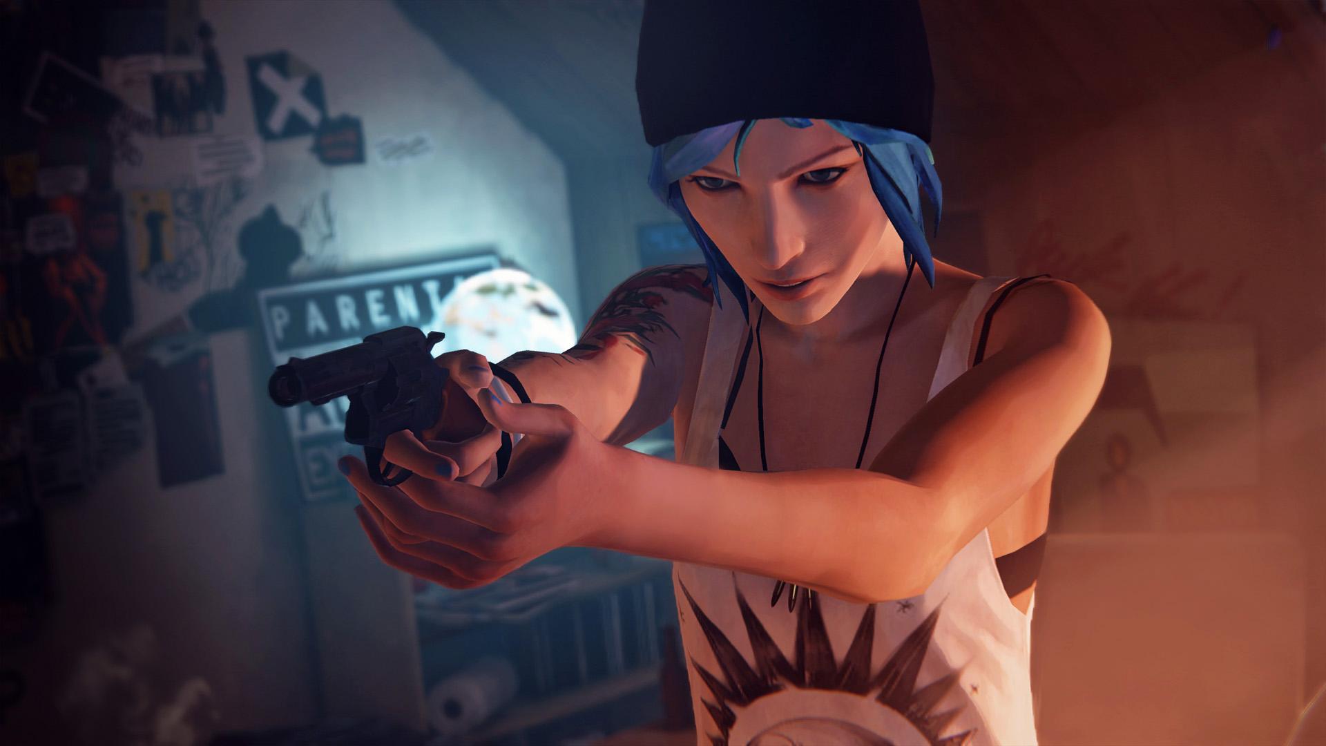 Официальный скриншот «Chloe Gun» из игры Life is Strange