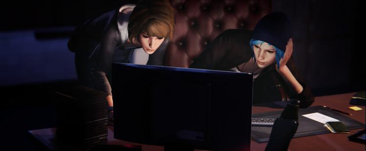 Фрагмент официального скриншота третьего эпизода LiS