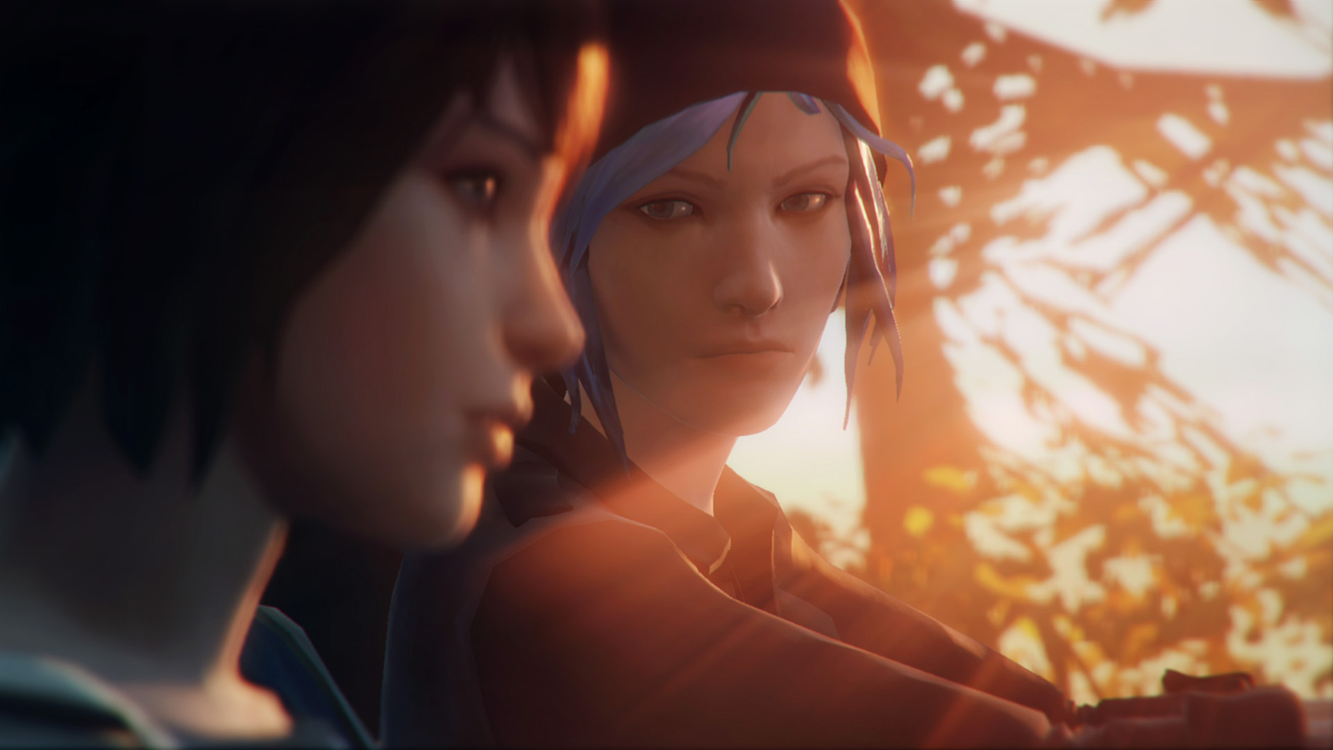 Официальный скриншот «Max and Chloe Car» игры Life is Strange