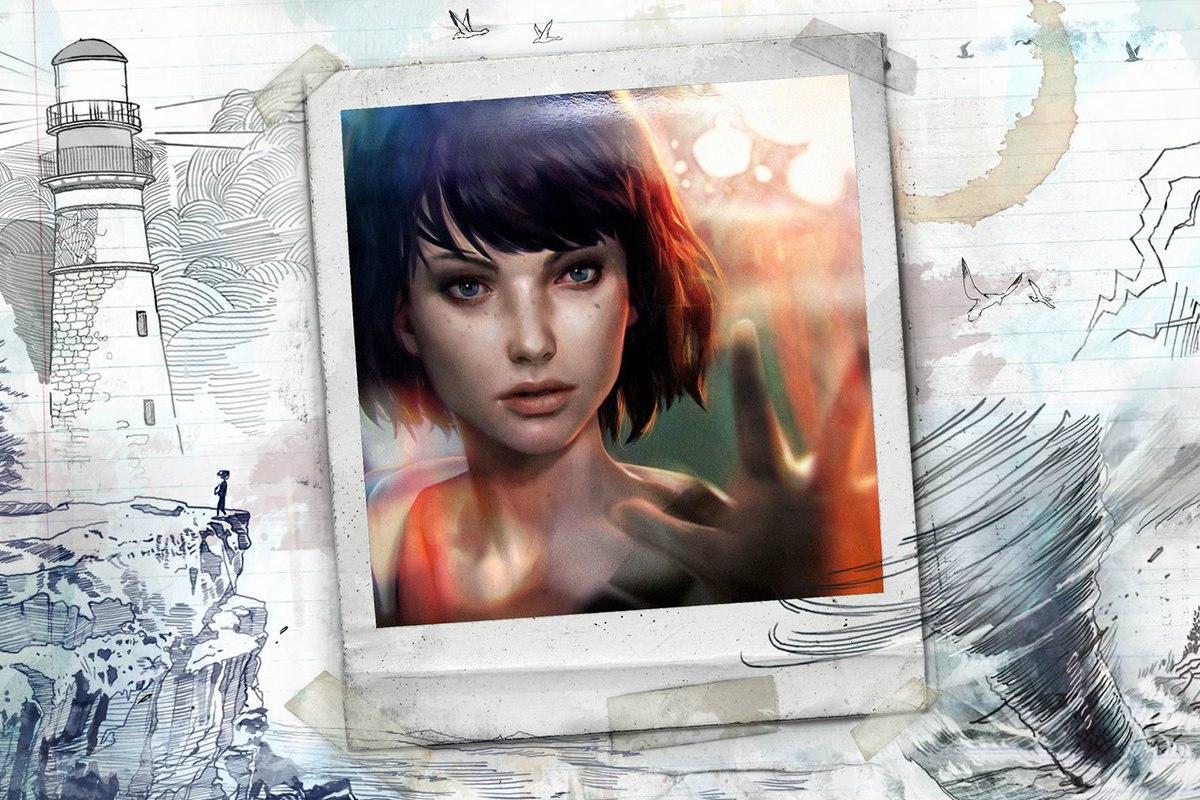 Официальный промо-арт для игры Life is Strange (2015)