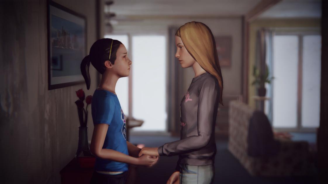 Макс и Хлоя из Life is Strange в детстве