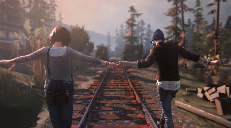 Хлоя и Макс во втором эпизоде игры Life is Strange