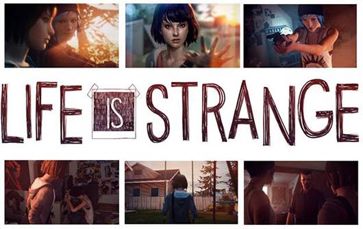 Скриншоты и логотип игры Life is Strange