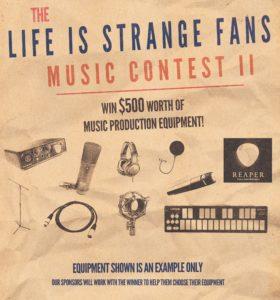 Музыкальный конкурс от фан-сайтаLifeIsStrangeFans.com