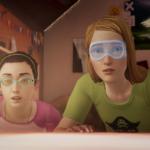 Макс и Хлоя в противозащитных очках (бонусный эпизод «Прощание»)