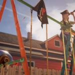 Хлоя в образе пирата (бонусный эпизод «Прощание»)