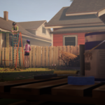 Макс и Хлоя во дворе дома Хлои (бонусный эпизод «Прощание»)