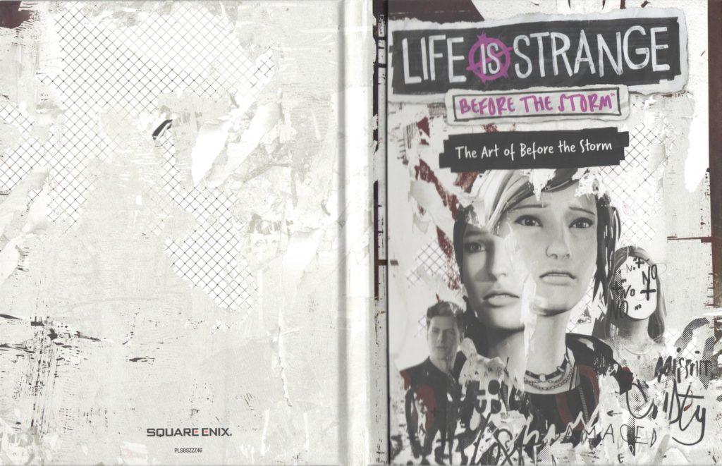 Артбук из Особого издания Life is Strange: Before the Storm (задняя и передняя обложка)