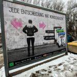 Рекламный щит Before the Storm в Германии