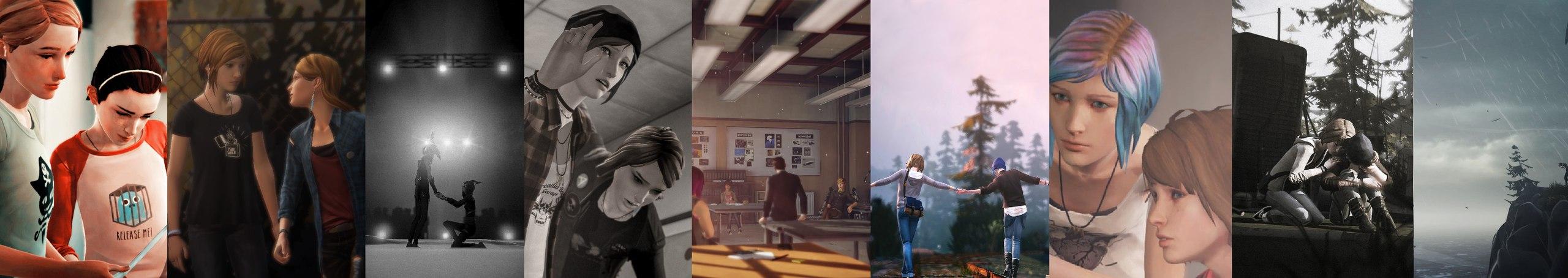 Скриншоты из всех эпизодов игр серии Life is Strange