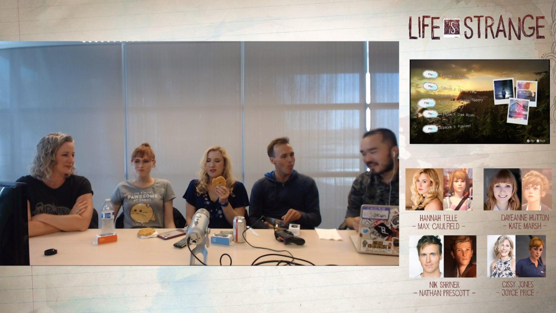 Стрим четвёртого эпизода с актёрами озвучки