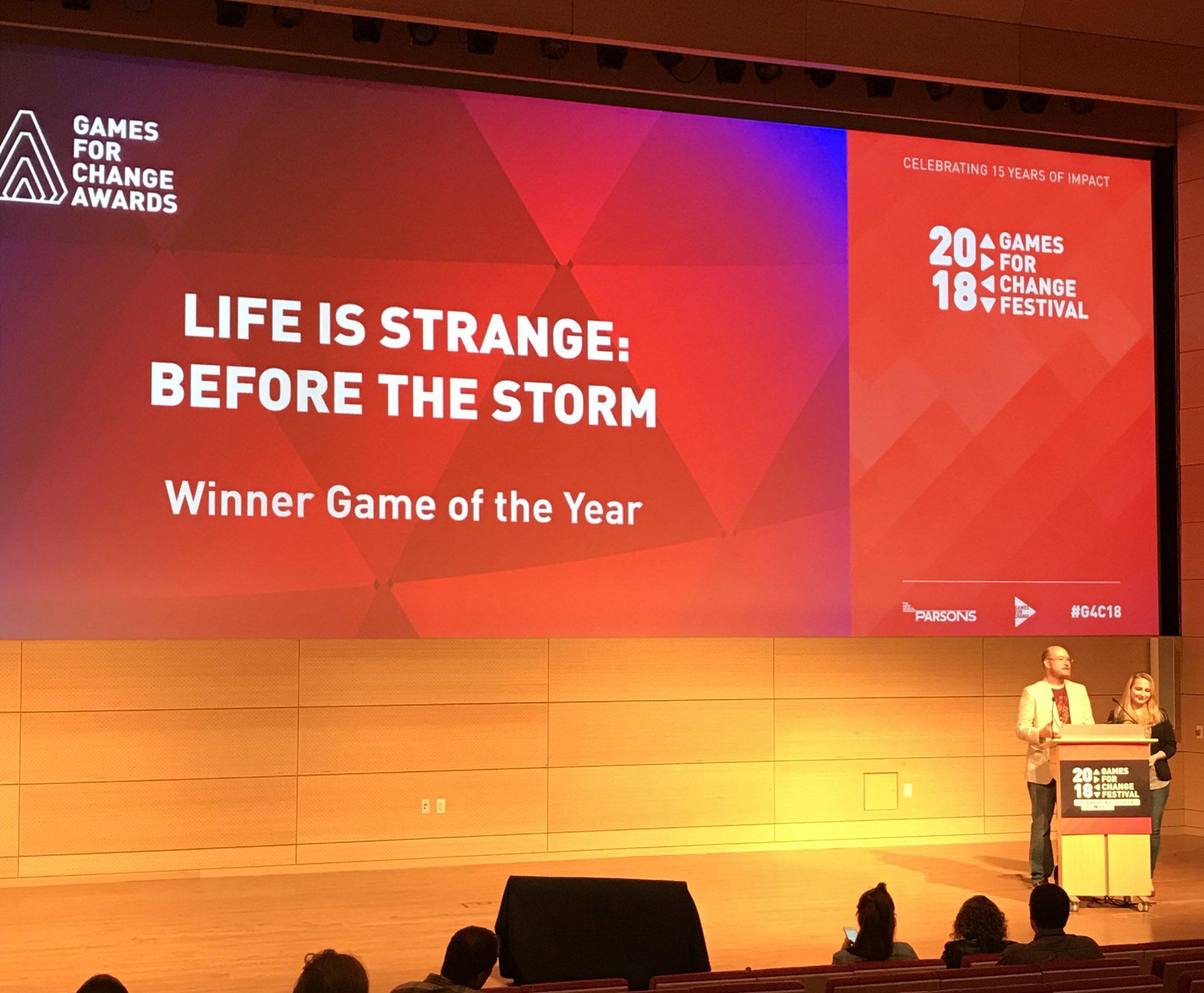 BtS удостоилась звания «Игры года» на фестивале Games for Change Awards