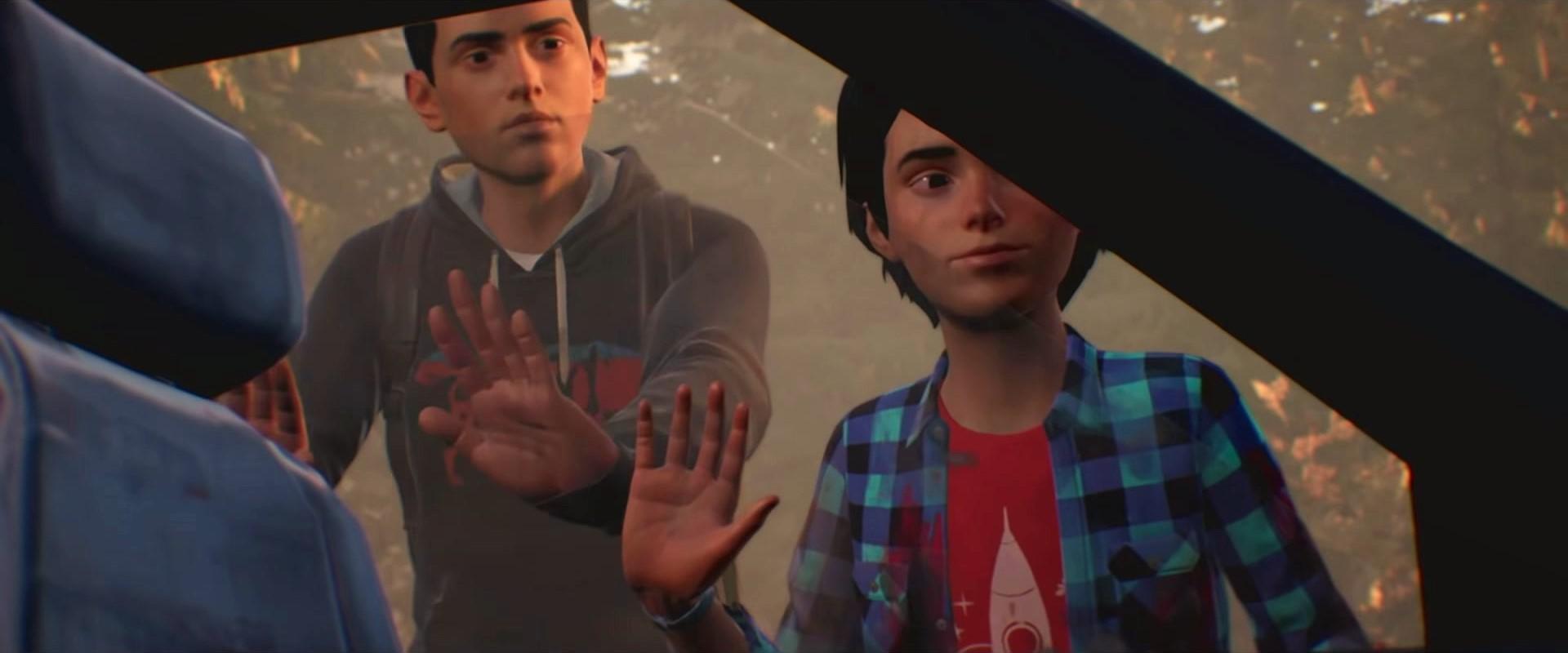 Скриншот из трейлера Life is Strange 2 (Шон и Даниэль)