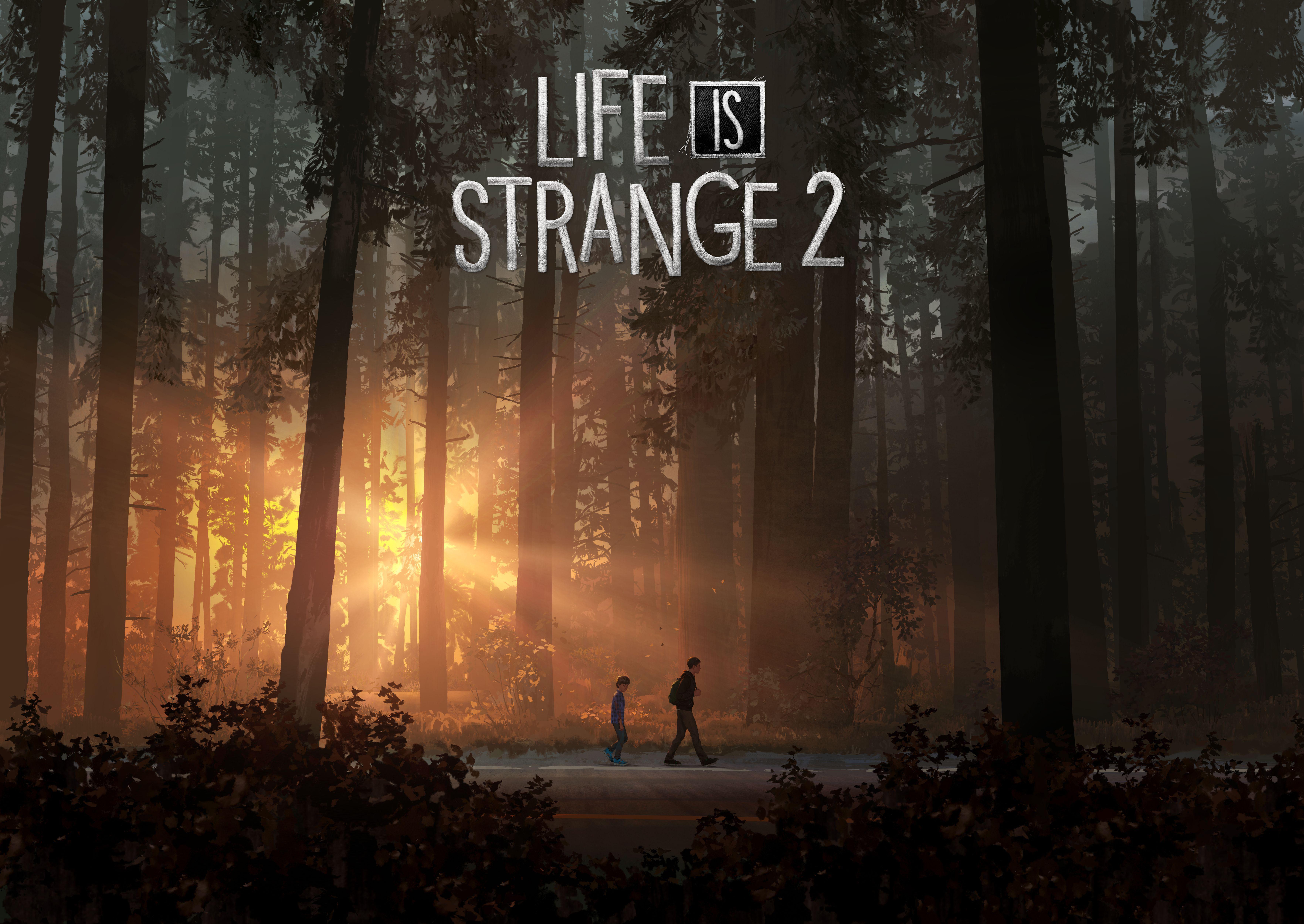 Ключевой арт первого эпизода Life is Strange 2 «Landscape» (с логотипом)