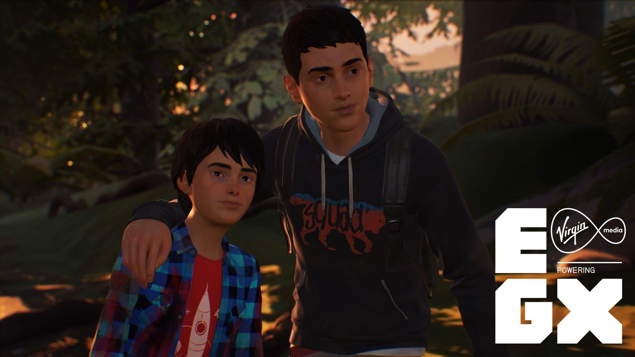Шон и Дэниэль на скриншоте Life is Strange 2 (EGX 2018)