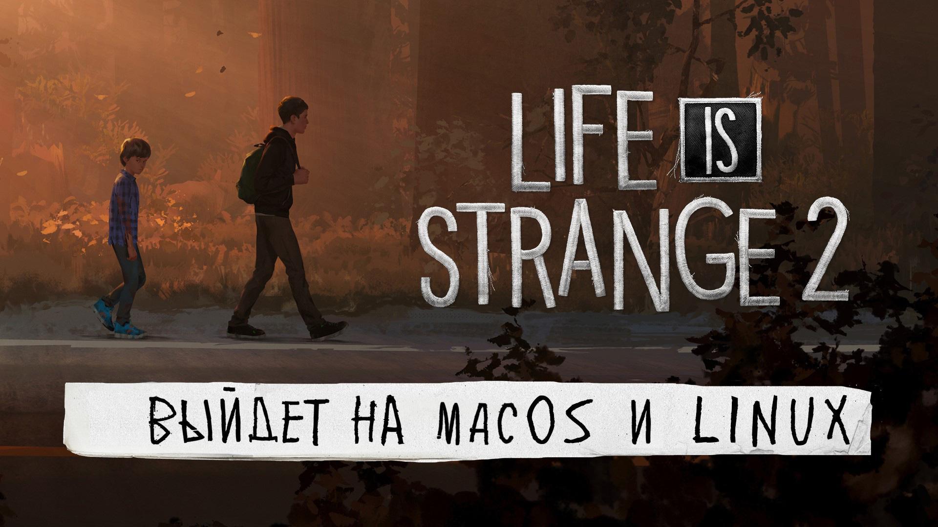 Постер Mac и Linux-версий Life is Strange 2