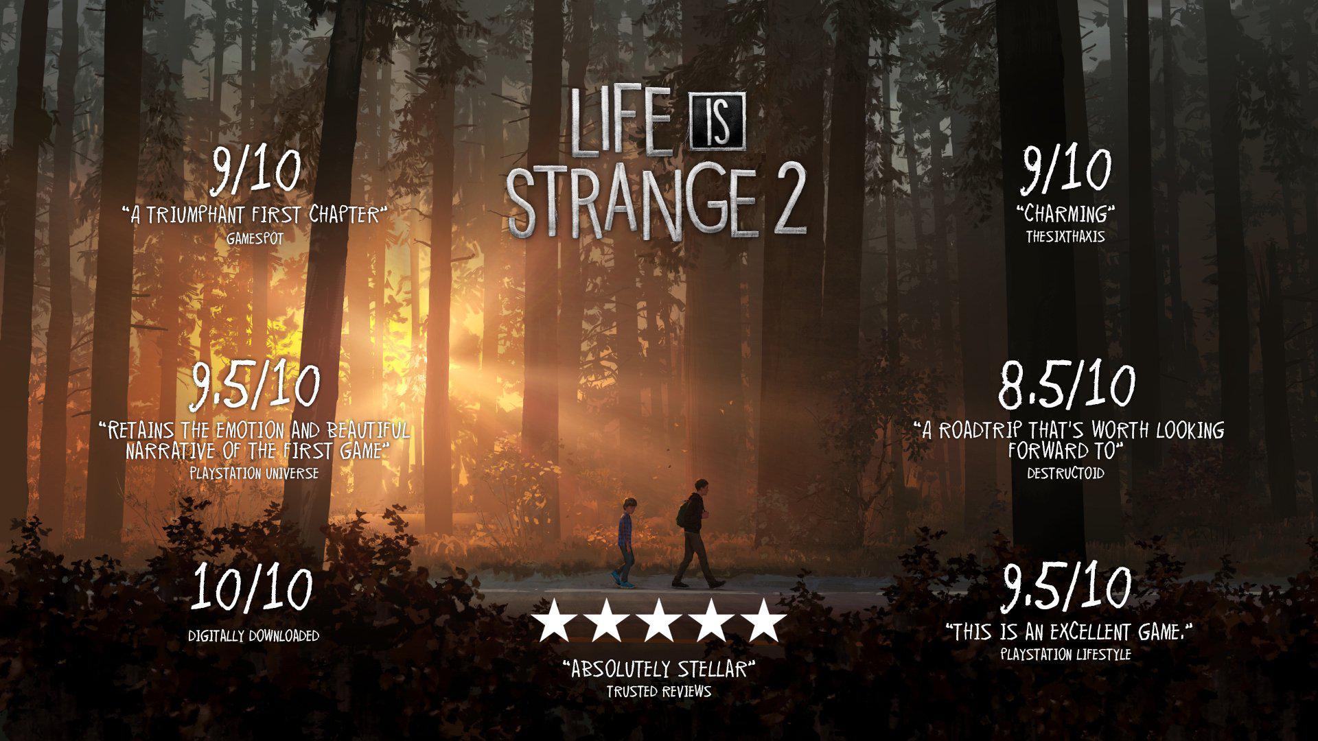 положительные рецензии от критиков (Life is Strange 2)